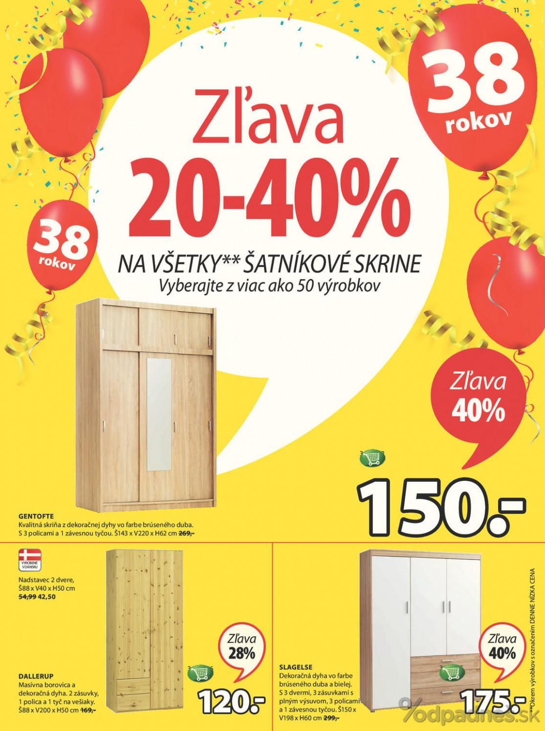 Jysk leták platný do 411.41.41 | Letákovo.sk