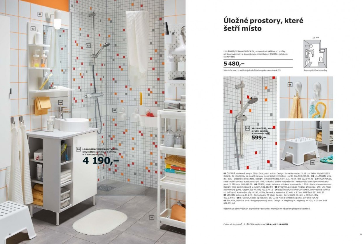 Koupelny Ikea