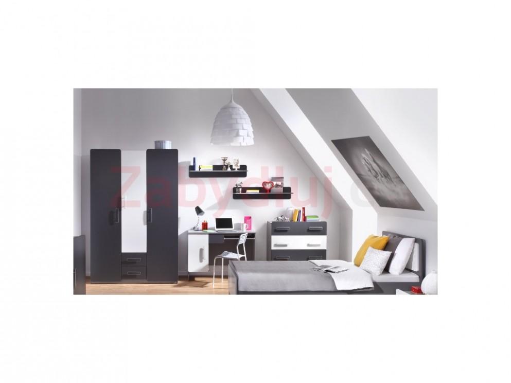 Elegantní nábytek do dětského / studentského pokoje LIDO 72 ...