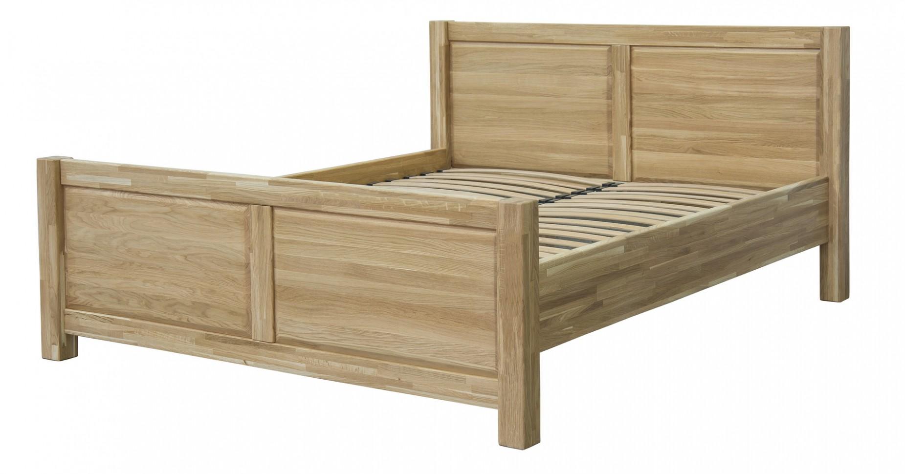 Postel z masivu 72 x 72cm, včetně roštu. Dřevěný nábytek - Postele ...