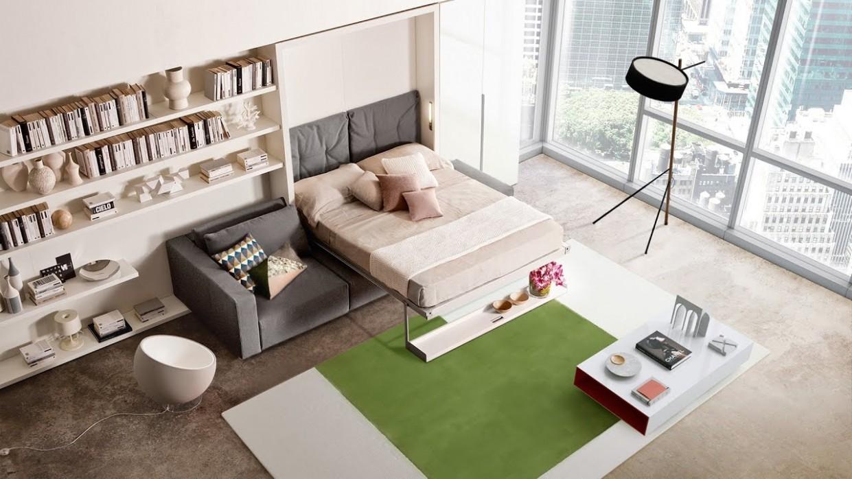 Skvělý rozkládací nábytek ze Salone del Mobile 36 - YouTube