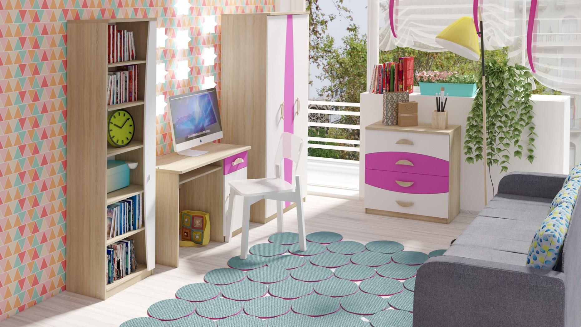 Detský (študentsky) nábytek TENUS II : Trendy nábytek do dětského ...