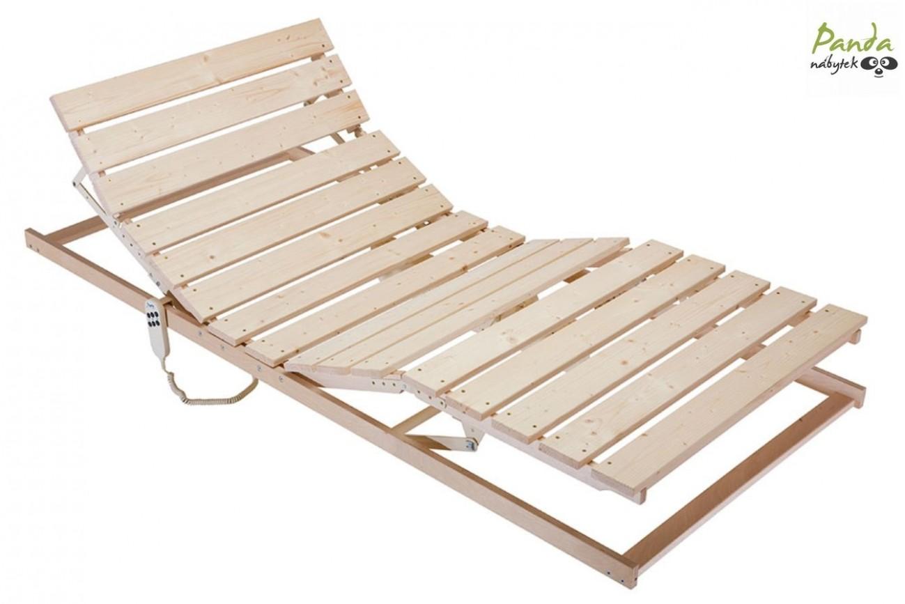 Rošt NOON® dřevěný s motorovým polohováním | Nábytek Panda