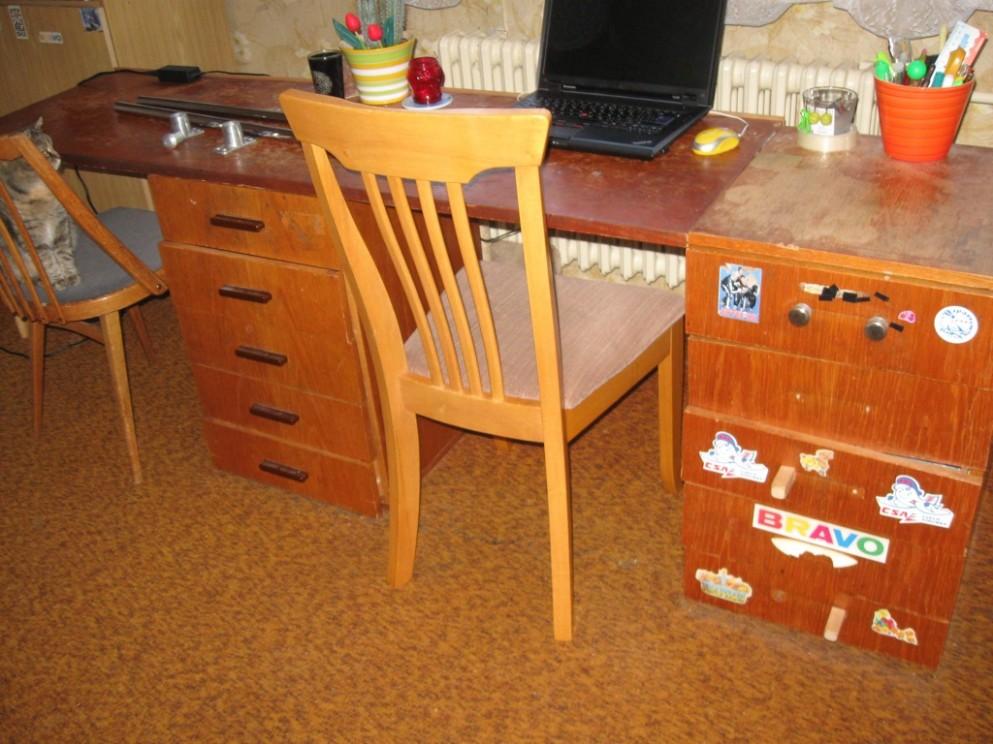 Psací Stůll Pro Dva