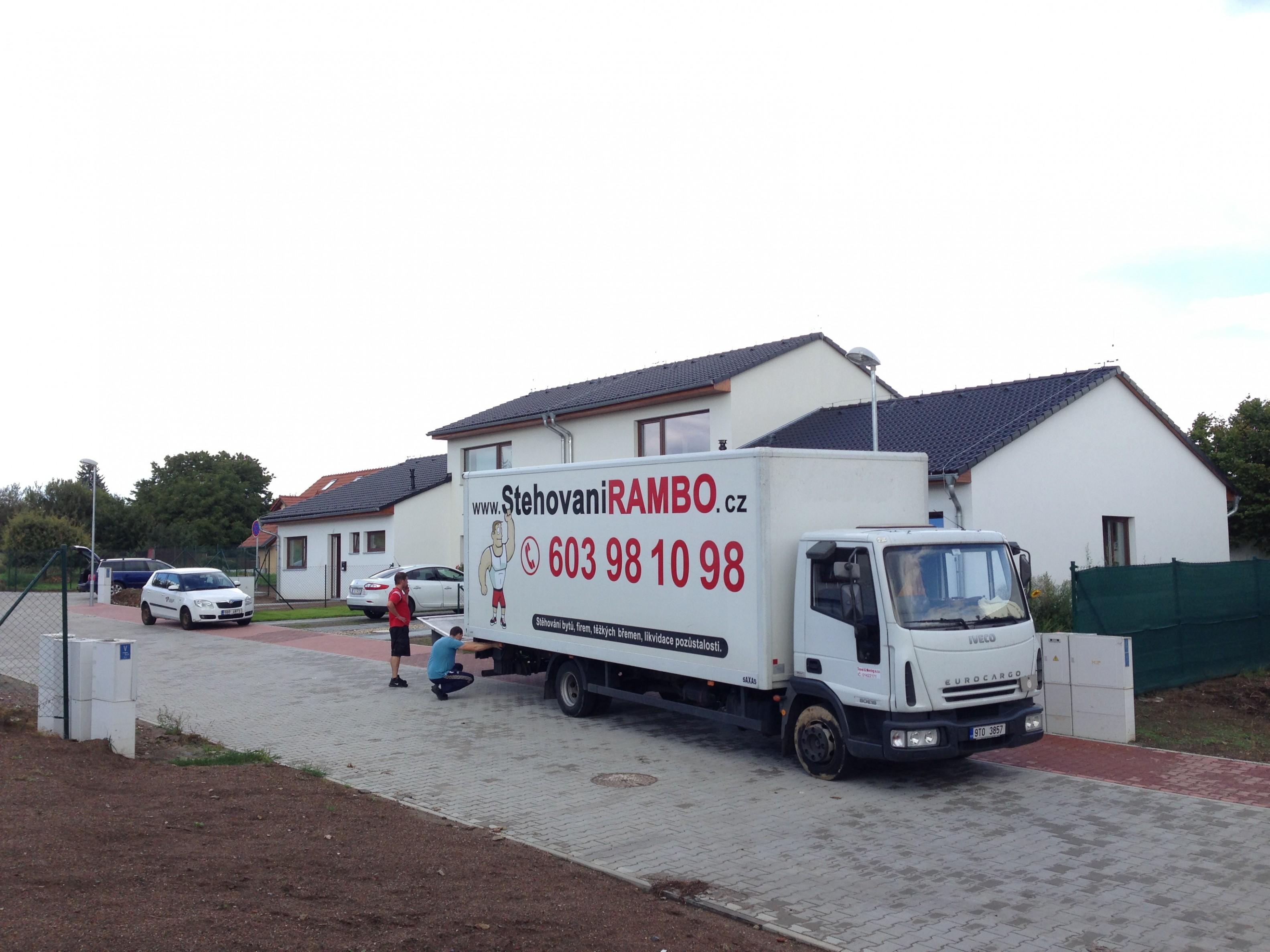 Stěhování Prostějov