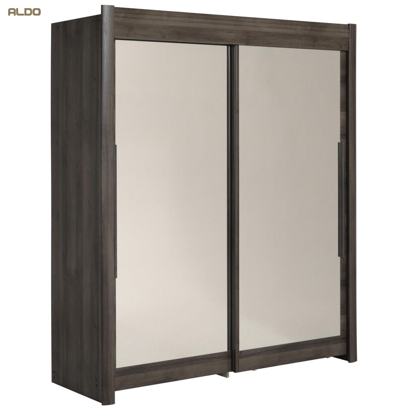 Šatní skříň s posuvnými dveřmi se zrcadly Celebrity RC54   Nábytek Aldo