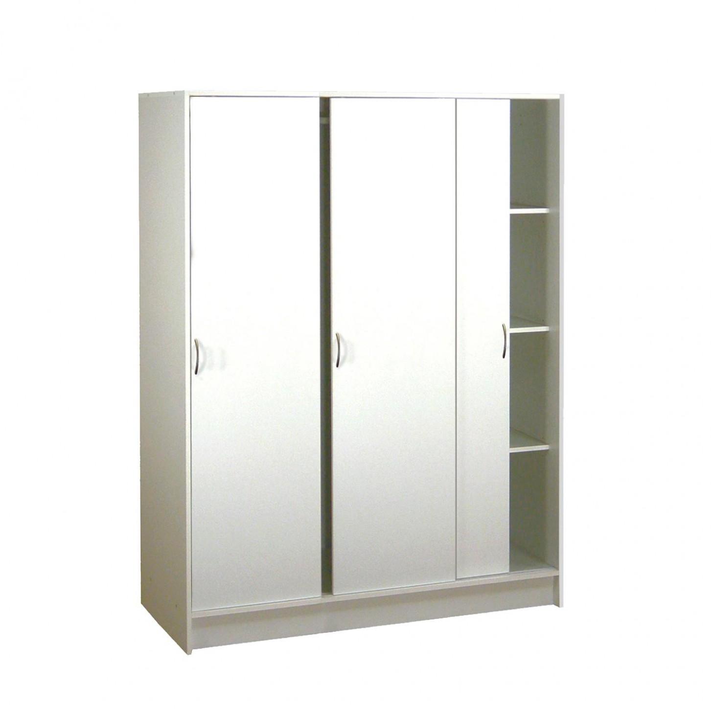 Skriňa s posuvnými dverami 54 biela - Skrine - IDEA Nábytok