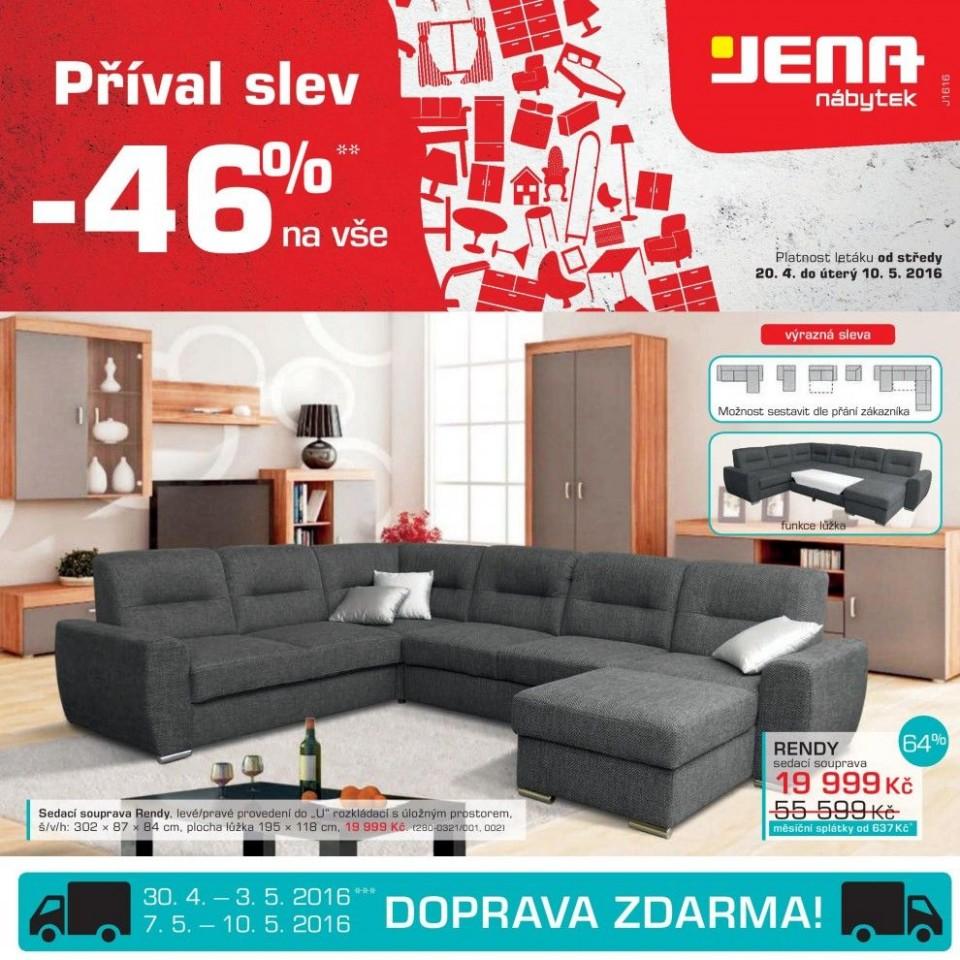 Jena leták slevy sedačky, matrace, kuchyně a koupelny strana 31 Jena ...