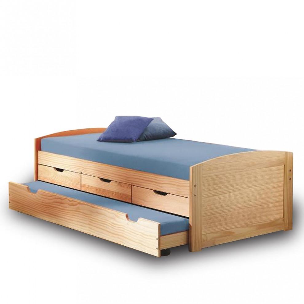 Dřevěné jednolůžkové postele z Nábytek Jičín | Biano