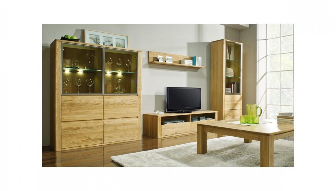Dubový nábytek do obýváku - Nábytek Mirek