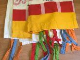 46 Svátecní šaty z Postele Ikea Bazar