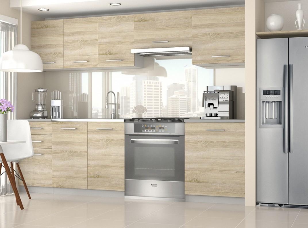 Kuchyňské linky, kuchyně, sektorové kuchyně, levné kuchyně