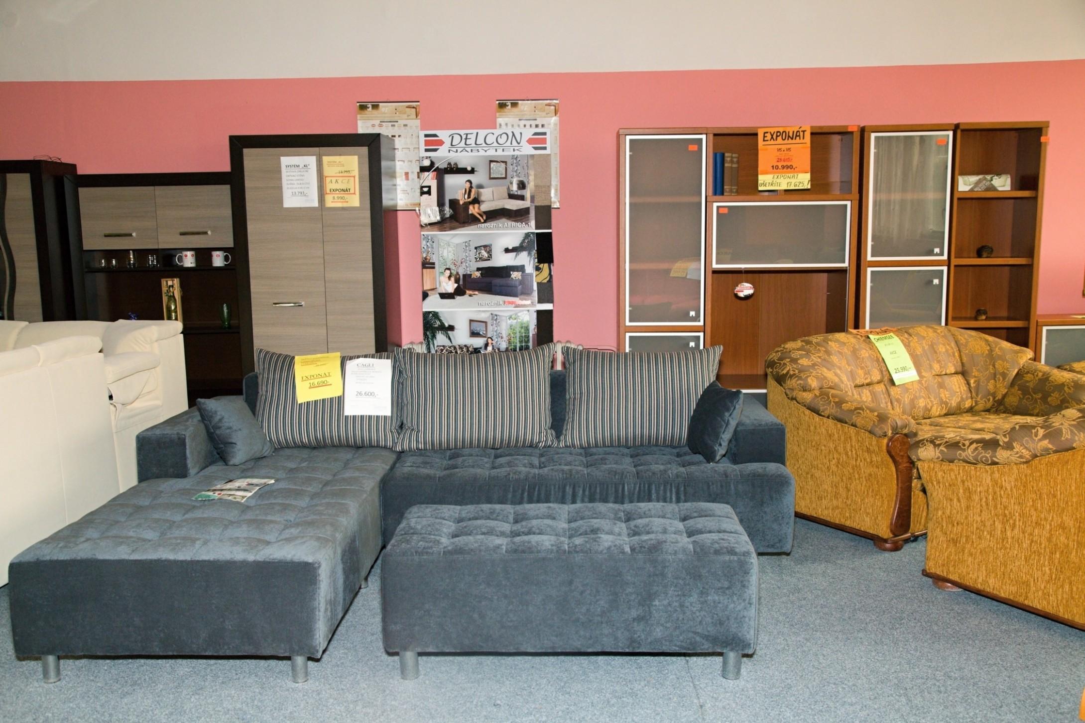 Opava prodejna nábytku - Delcon nábytek