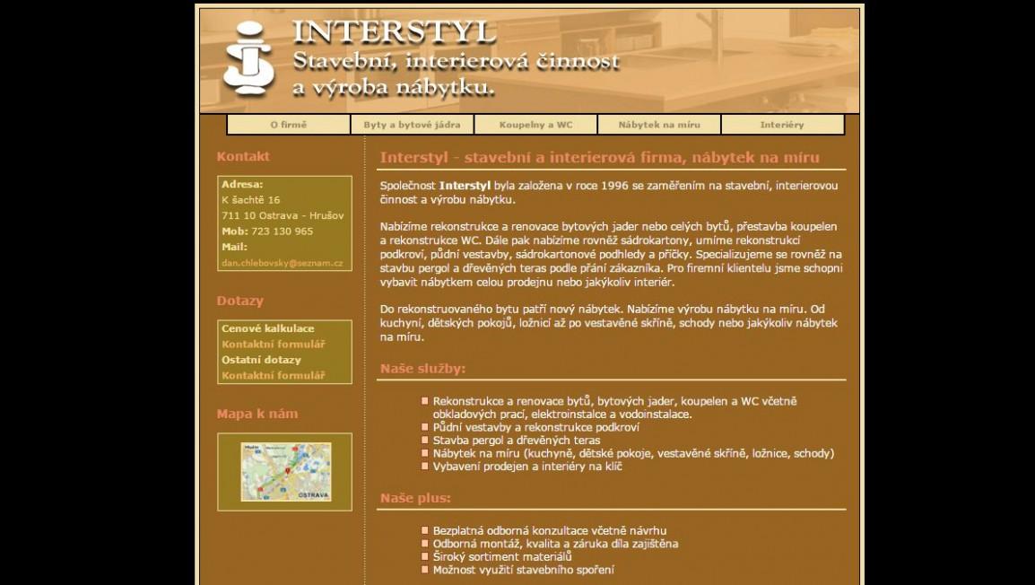 INTERSTYL - přestavby interiérů, nábytek na míru Ostrava - Infoaktualne