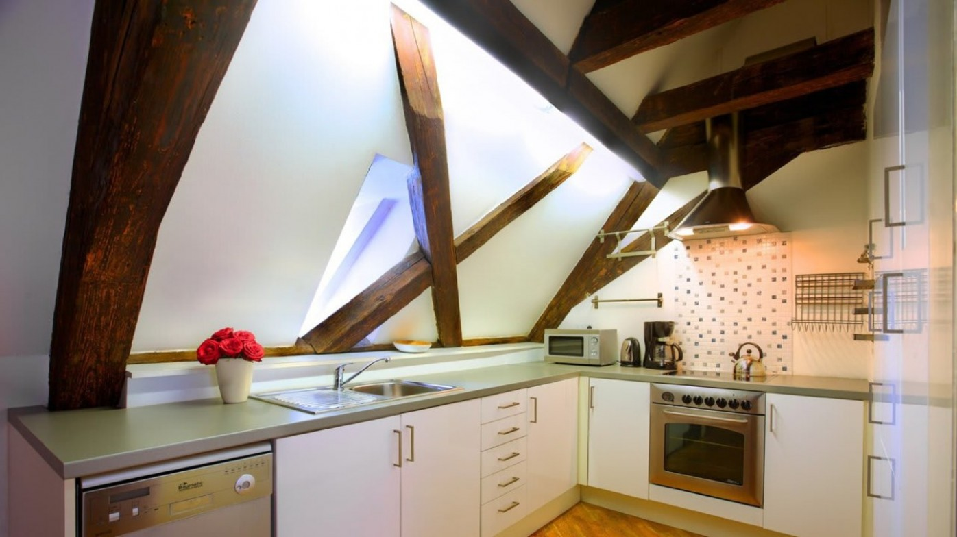 Kuchyne v Podkroví