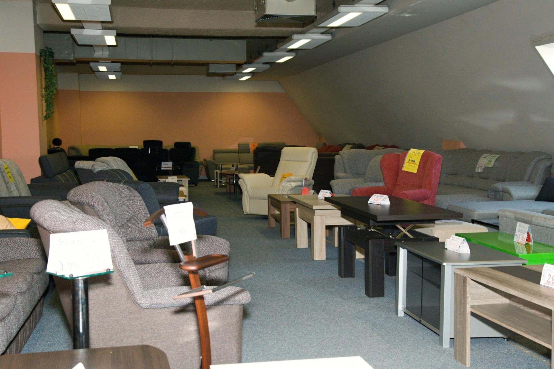 Nový Jičín prodejna nábytku - Delcon nábytek