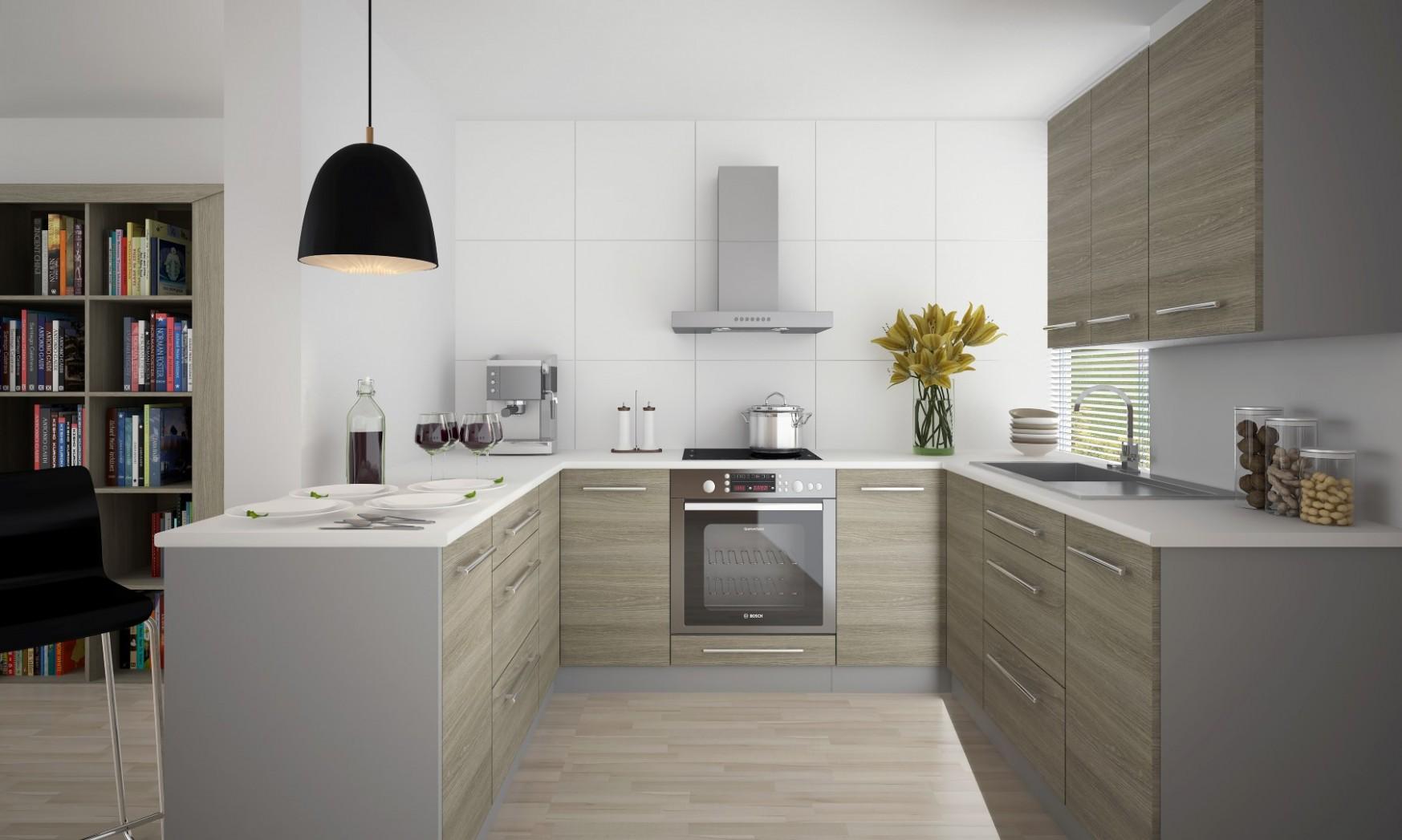 Kuchyně do tvaru U - NÁBYTEK SPRINT - kuchyně, kuchyňské linky ...