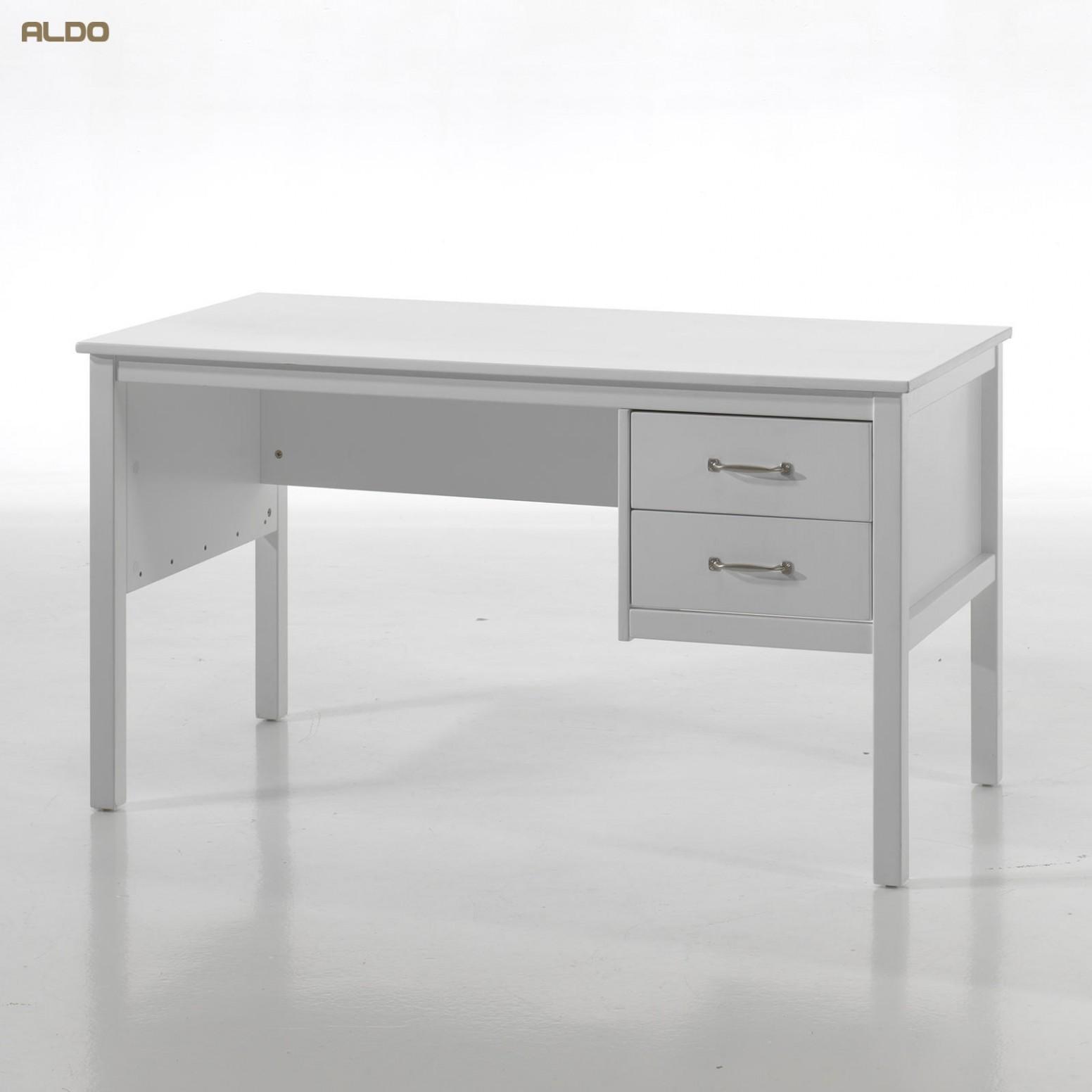 Psací Stůll Bílý