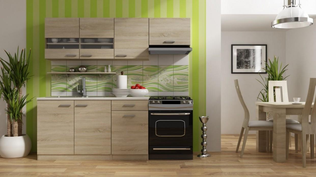 Kuchyňská linka Bode 44/44 cm dub sonoma | FH nábytek