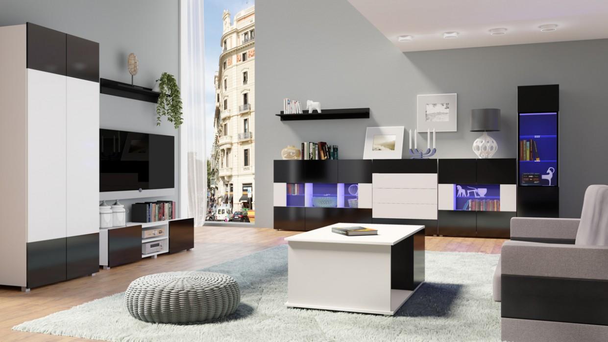 Studentské stěny a sestavy : Trendy nábytek do obýváku GORDIA ...