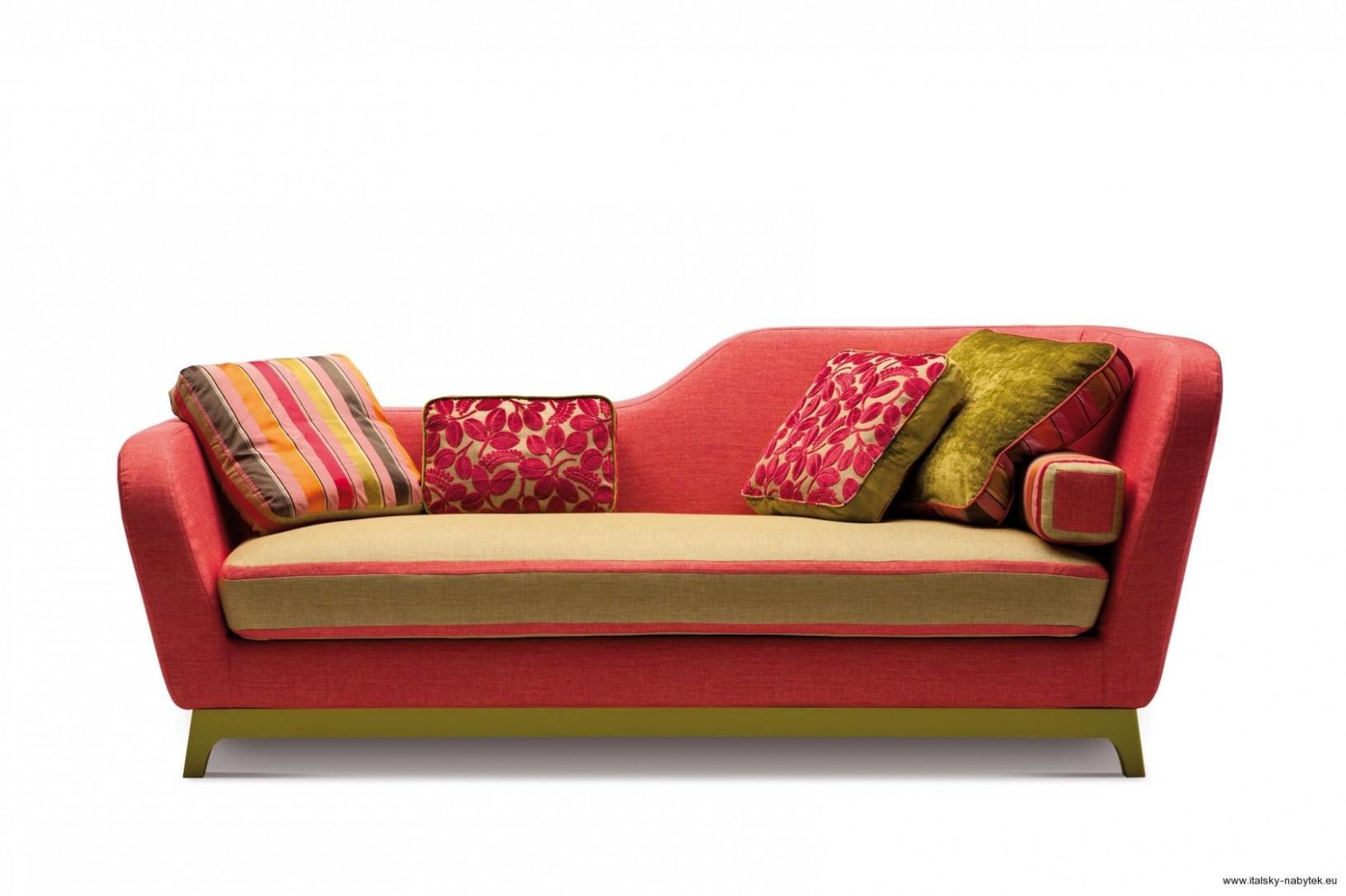 MILANO BEDDING | JEREMIE - Retro rozkládací pohovka, sedačka 67 cm ...