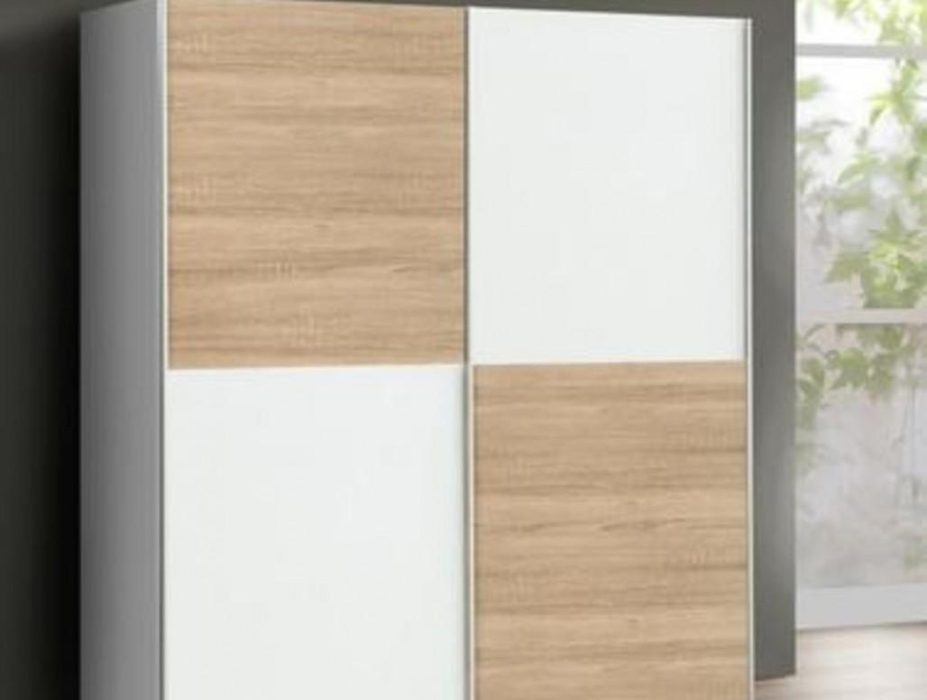 Montáž 32 skříně ze Sconto 3275x32 cm, posuvné dveře - Vyřešmito
