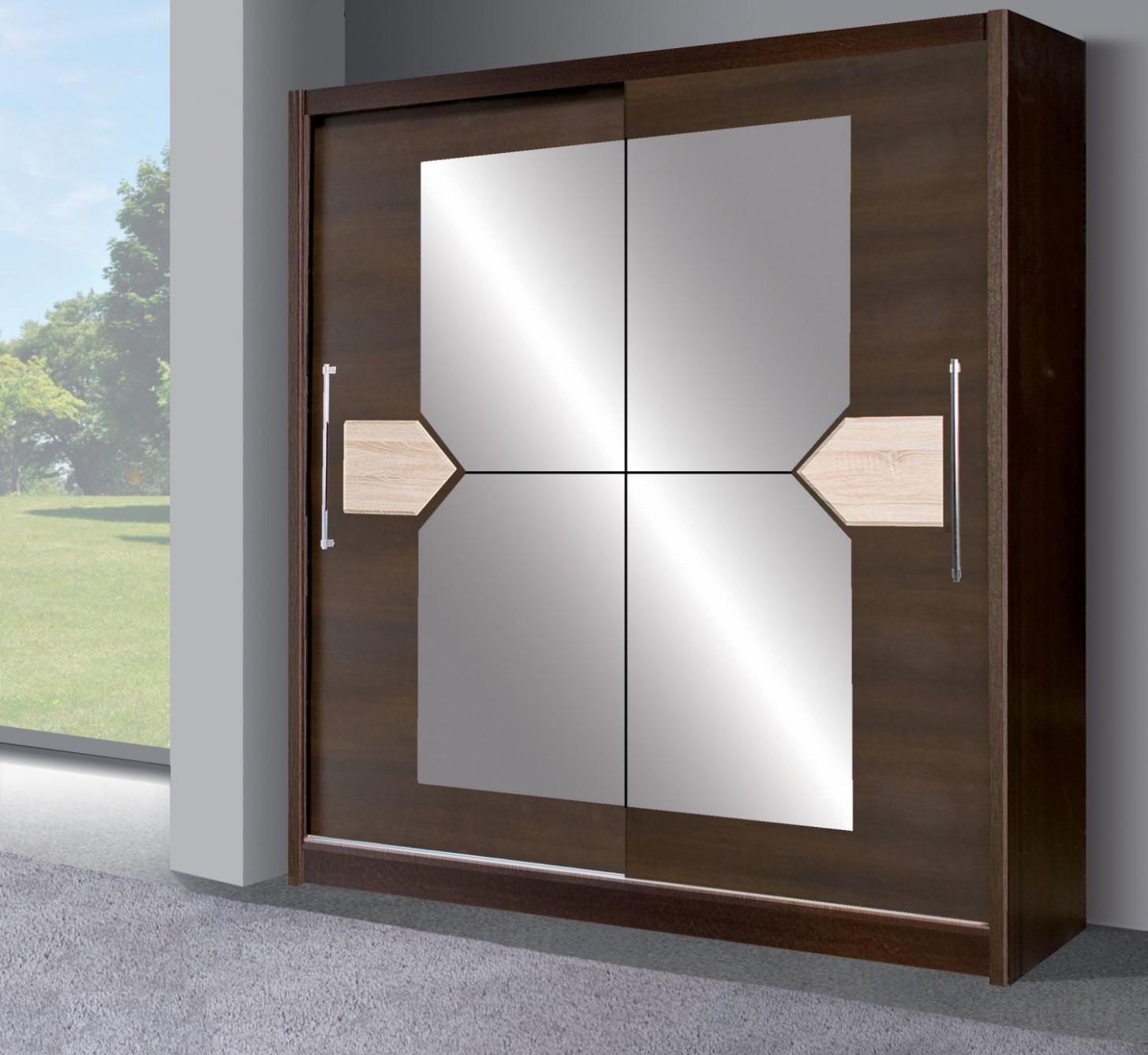 Šatní skříň s posuvnými dveřmi Donzel 54