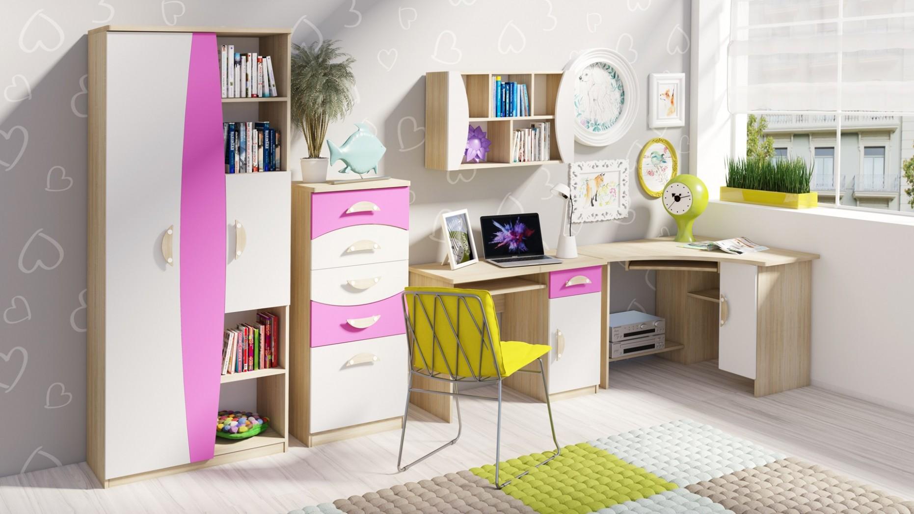Stylový nábytek do dětského pokoje TENUS II Sestava 72