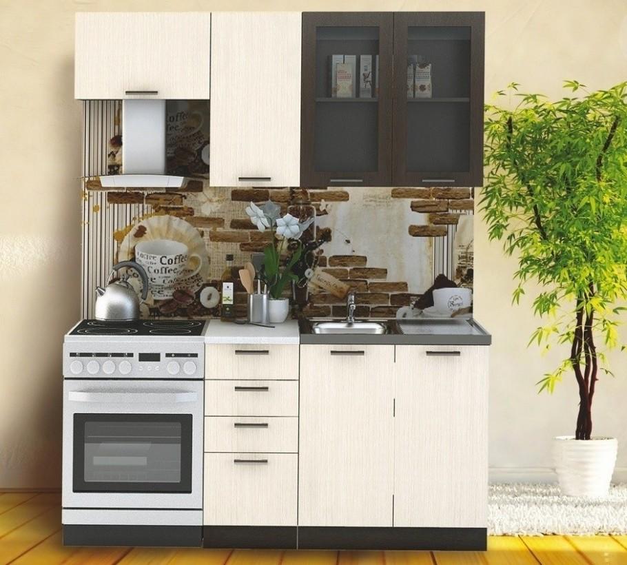 Kuchyňská linka RIVIERA 53/53 cm wenge/dub bělený | FH nábytek