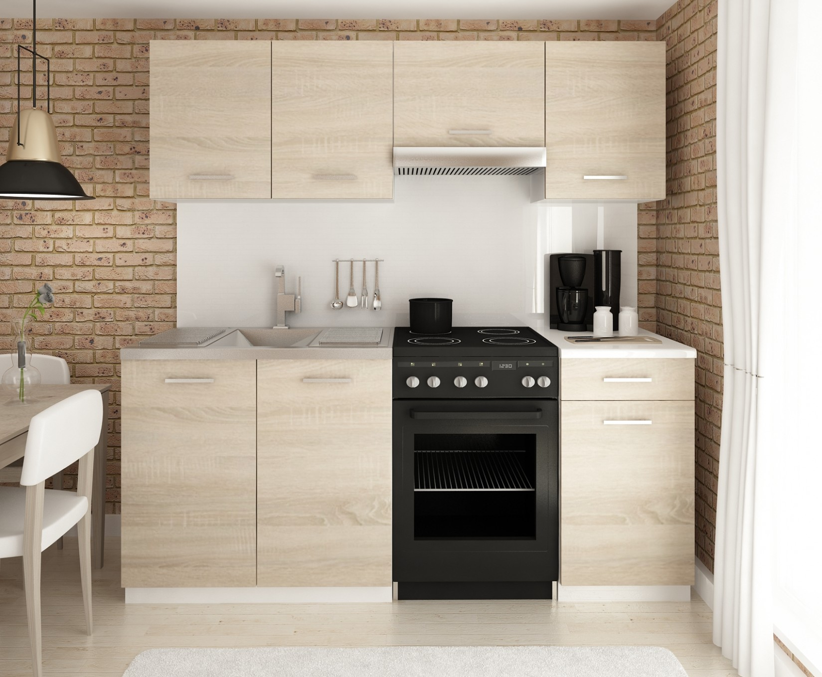 Kuchyně: Kuchyňská linka LUIZA 53/53 - Nejlevnější nábytek s ...