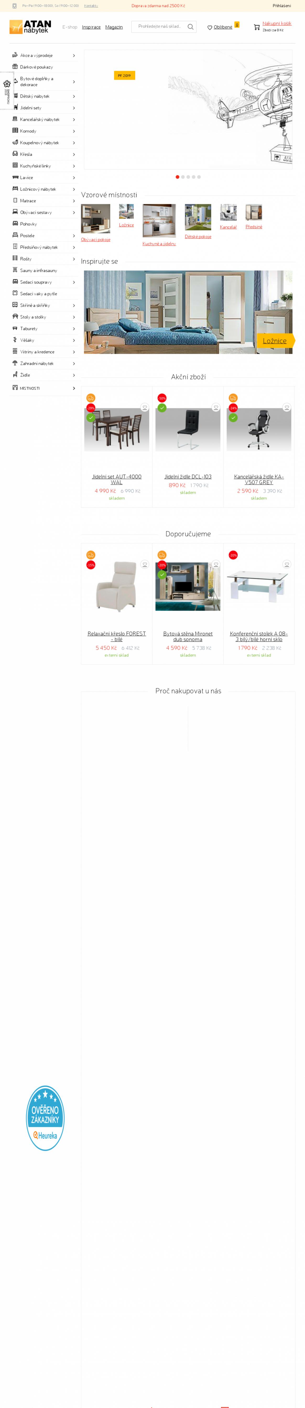 ATAN nábytek | SledujCenu.cz