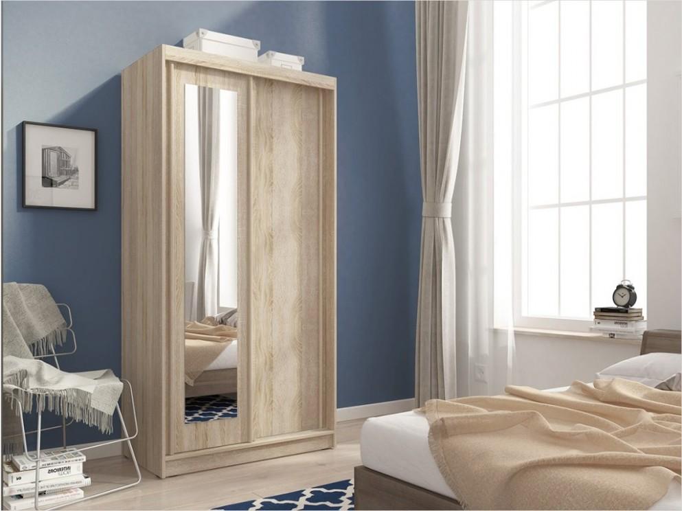 Šatní skříň - ALASKA 52, dub sonoma - nábytek MAXIVA