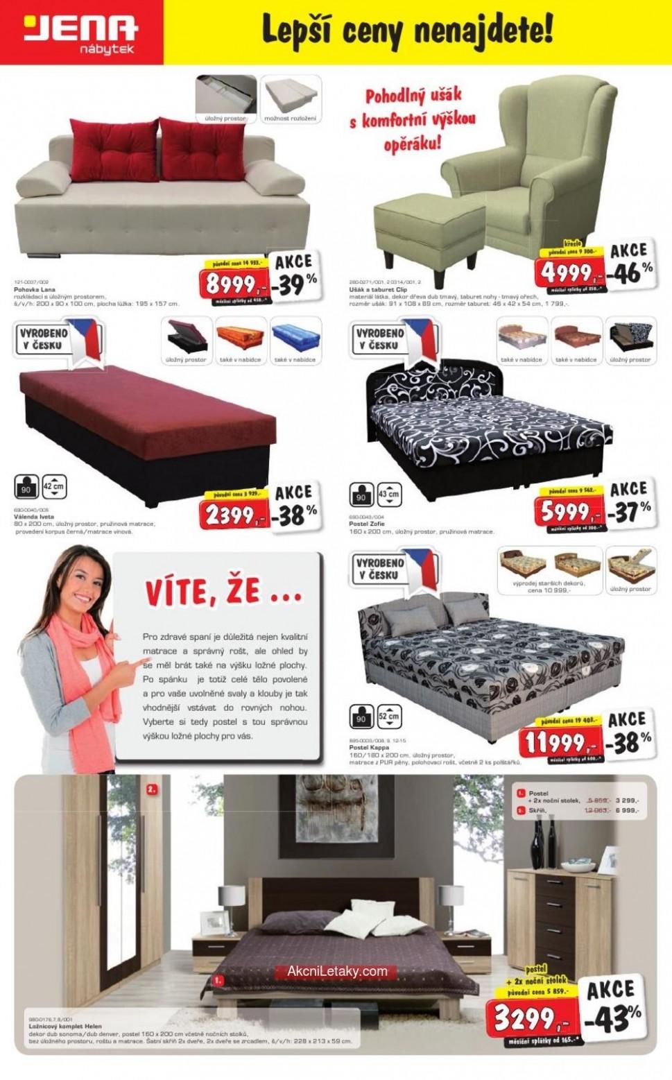 Katalog Jena nábytek od 59.59.