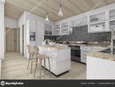 Akcie 36+ Kvalitní Fotky z Moderní Drevené Kuchyne