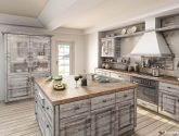 812 borovice vintage (Nábytková dvířka: Tvar 49, Fólie pro dvířka: 812 - borovice vintage) Kitchen Kuchyně, Dřezy a Provence - Kuchyne Provence