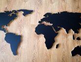 95+ Kvalitní Fotogalerie z Hodiny Na Zed - 3D mapa sveta 100x200 cm / 3dshop - SAShE.sk - Handmade ...