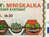 DIY: Miniskalka – závesný kvetináč | tickpo