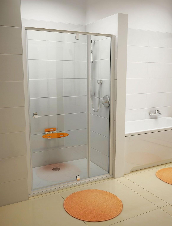 Jak uzavřít sprchový kout? Dveře, zástěna, nebo nechat ..