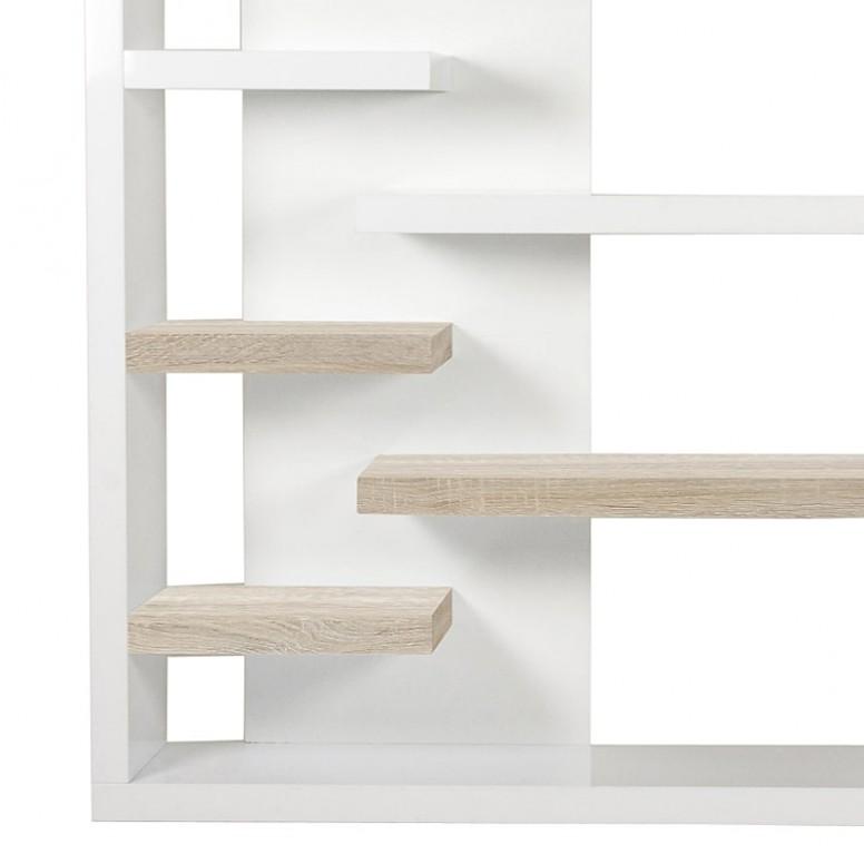Nástěnný regál / knihovna Bergen, 200 cm | Regály do ...