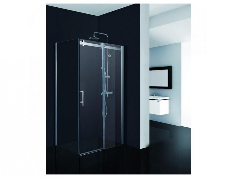 Obdélníkový sprchový kout BELVER KOMBI - 15 x 15 x 15 cm 15 mm čiré  bezpečnostní sklo - Sprchovy Kout