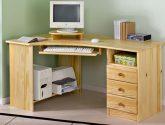 rohový počítačový stůl 13 lak - Rohový Pc Stul
