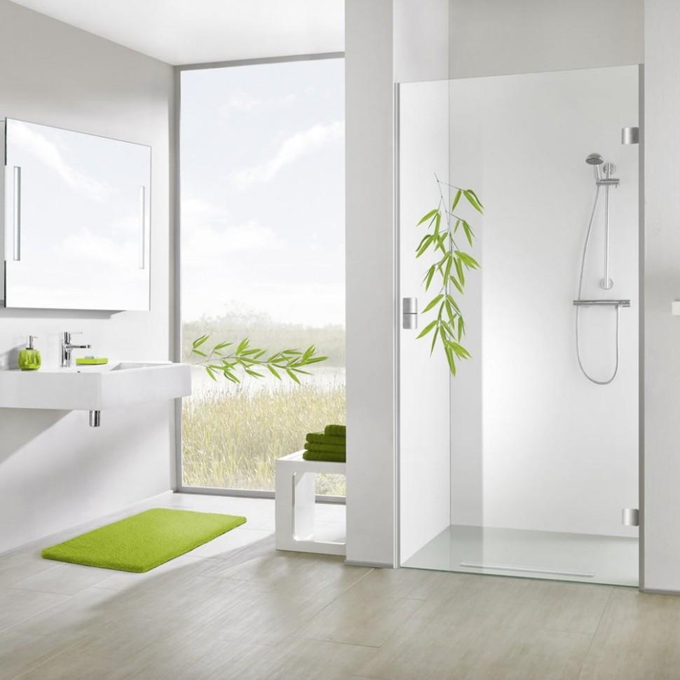 Samolepka na sprchový kout Bamboo Green | Bonami - Sprchovy Kout