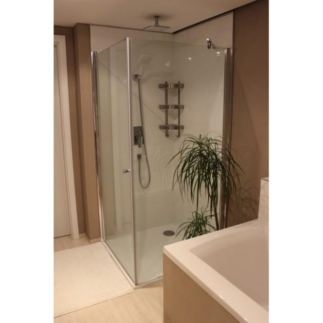 Čtvercový sprchový kout 80x80 Pivot Fix - Sprchovy Kout