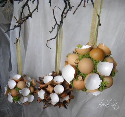 Velikonoční koule - závěsné dekorace | Decorations.cz