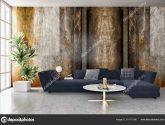 Velké Luxusní Moderní Světlé Interiéry Obývací Pokoj Obrazem ..