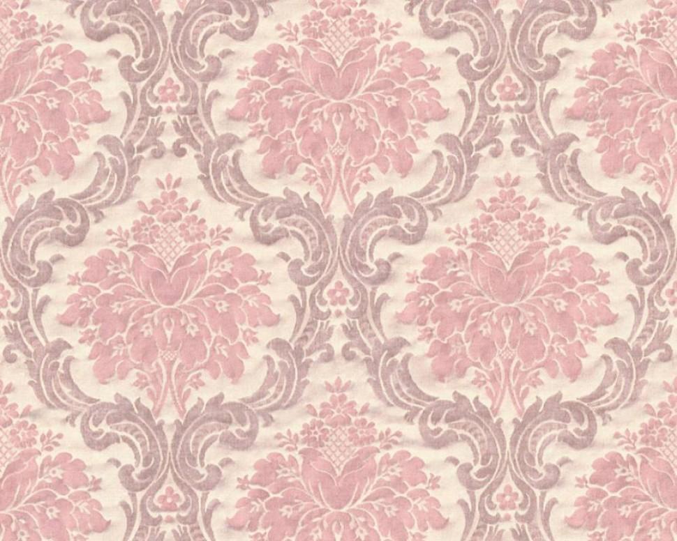 Růžovo/béžová vliesová tapeta na zeď Paradise Garden - ornamenty -  15-15/1515