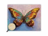 Dřevěný obraz Butterfly - Obrazy na zeď
