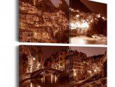 Obrazy na zeď Italské město Murando DeLuxe | Obrazy na zeď