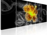 Vícedílné obrazy na zeď kouřový květ III - Obrazy na zeď