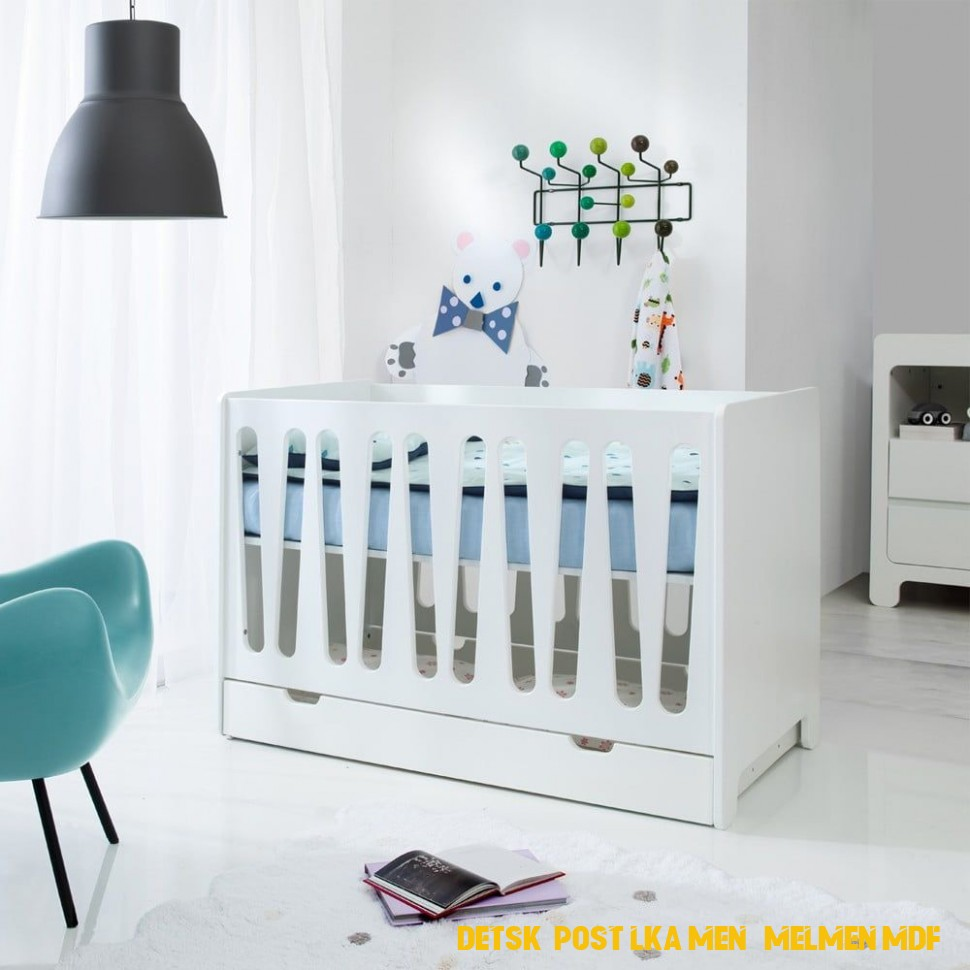 Dětská postýlka menší Melmen MDF | Decor, Furniture, Bed